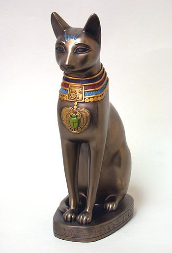 Quelle place avaient les animaux sacrés dans l'Egypte antique Bastet
