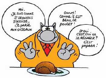 ALBERT DUBOUT (1905,1976), dessinateur, humoriste, et peintre français, adorait les chats. Ses illustrations danimaux, et plus particulièrement de petits